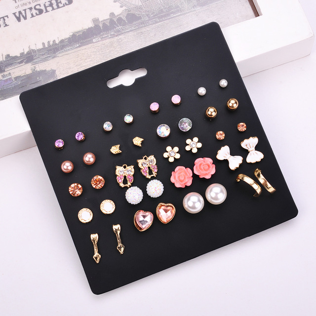 Hot-20-Pairs-Pack-Alloy-Bow-knot-Pearl-Crystal-Stud-Earrings-Piercing-Earrings-Set-for-women.jpg_640x640